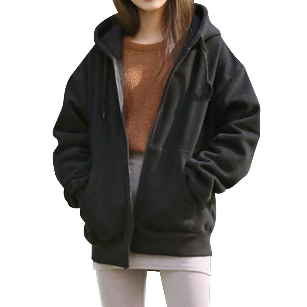 FEITONG Children Girls Winter Warm Coats Jacket Zipper Thick Hoodie Outerwear