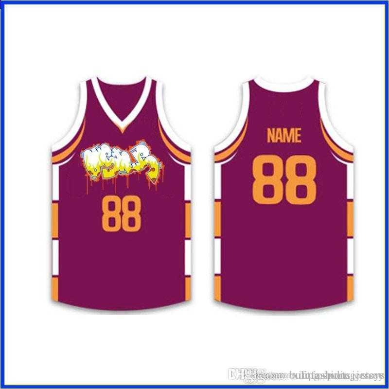 encargo del baloncesto camisetas de alta calidad secado rápido shippping rápido amarillo azul rojo Qzxcvvxczxcxzc, JH