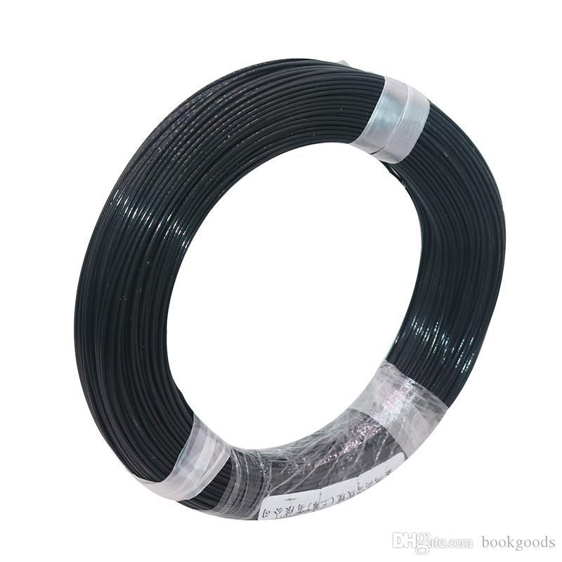 Freeshipping 100m voiture Phares xénon modifiés fil spécial résistant à haute température fil à haute température 0,5 fluoroplastique carré