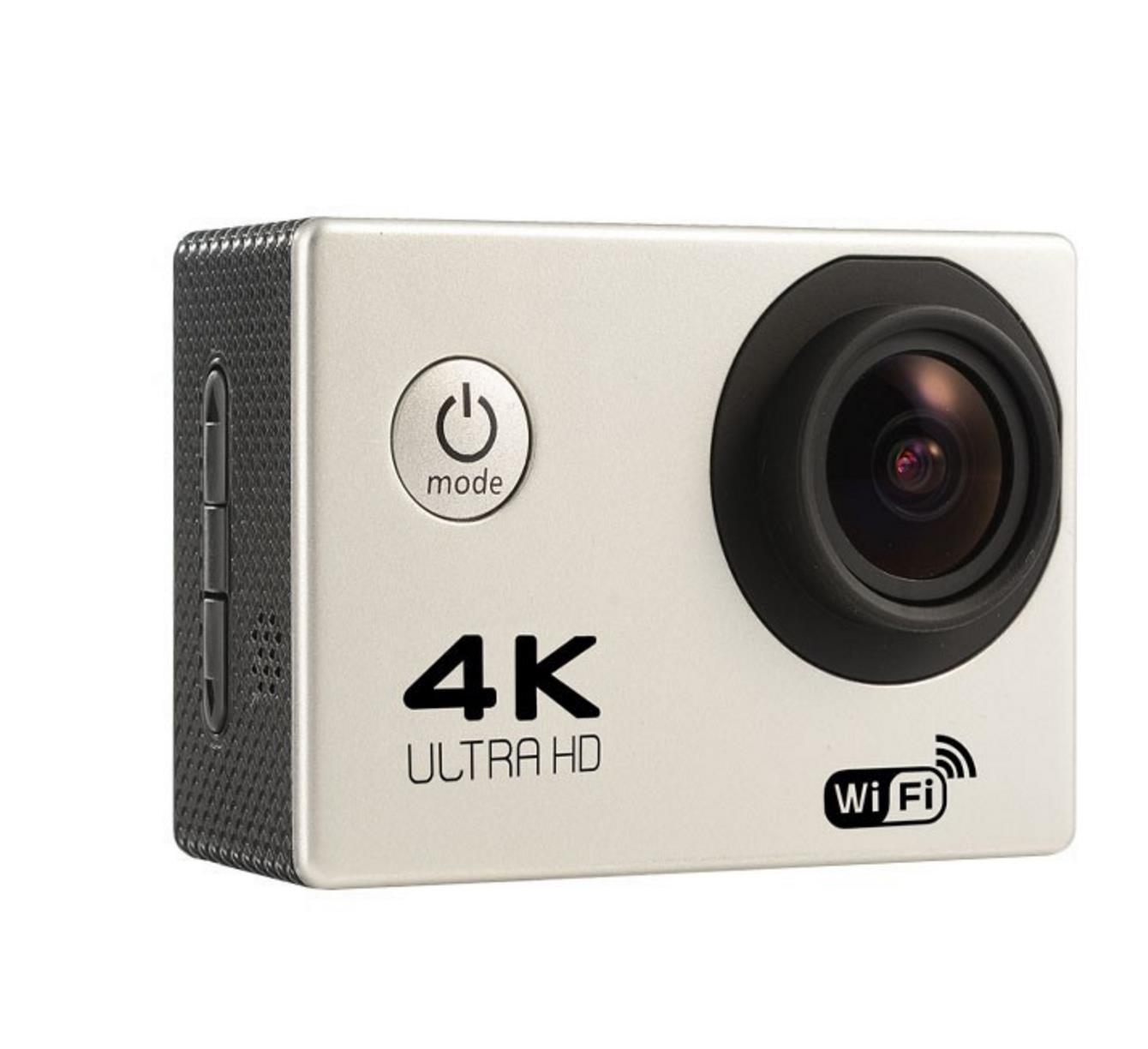 4K واي فاي كاميرا 170 درجة واسعة كاميرا الملاك الرياضة DV الغوص للماء في الهواء الطلق ركوب صور اطلاق النار تسجيل الفيديو
