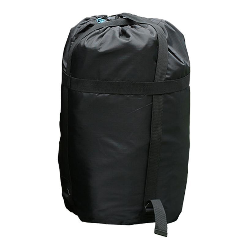 Waterproof Sleeping Bag Compression Stuff Sack Bag Light Camping Bag Black Bag