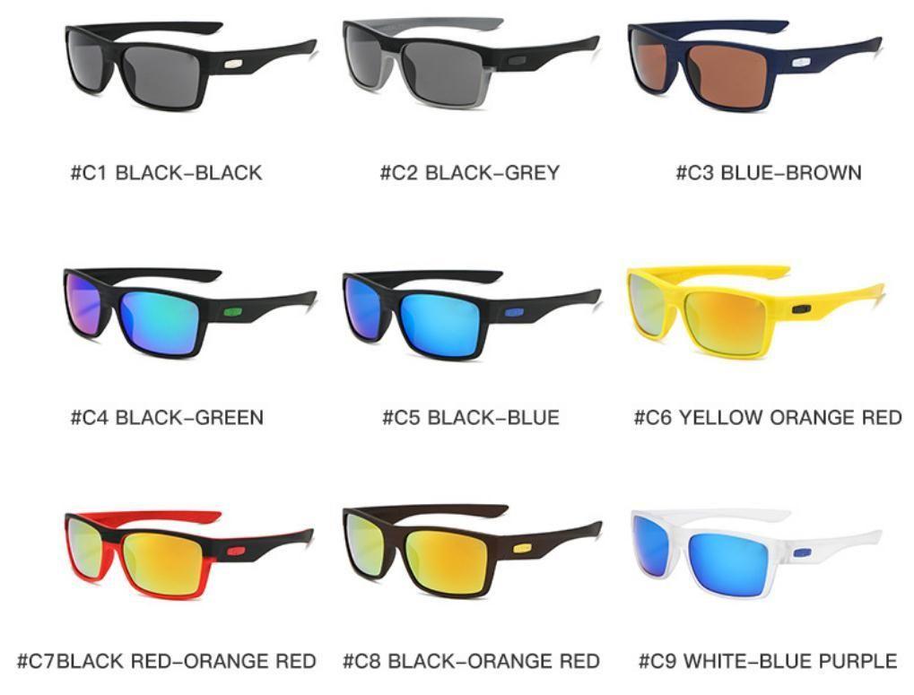 Hommes conduisant des lunettes Vélo Femmes TR90 1079 Design de lunettes de soleil Vente en gros lunettes de mode Sport UV400 lunettes de soleil XDHHT