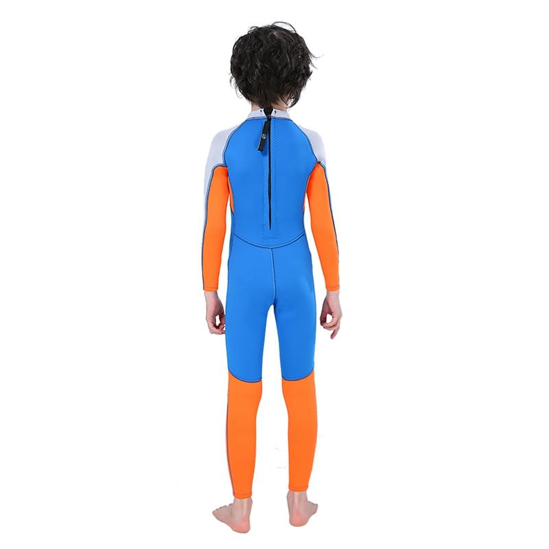 Boy 2.5mm Long Sleeve Swimsuit Children Boy Gril Thermal Dive Skin For Swimming Diving Snorkeling Surfing