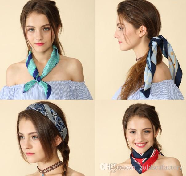 bags handbag scraf handle belt Female new arrive original fashion Printing wallet purse silk imitation women shoulder DIY ART US JP tote