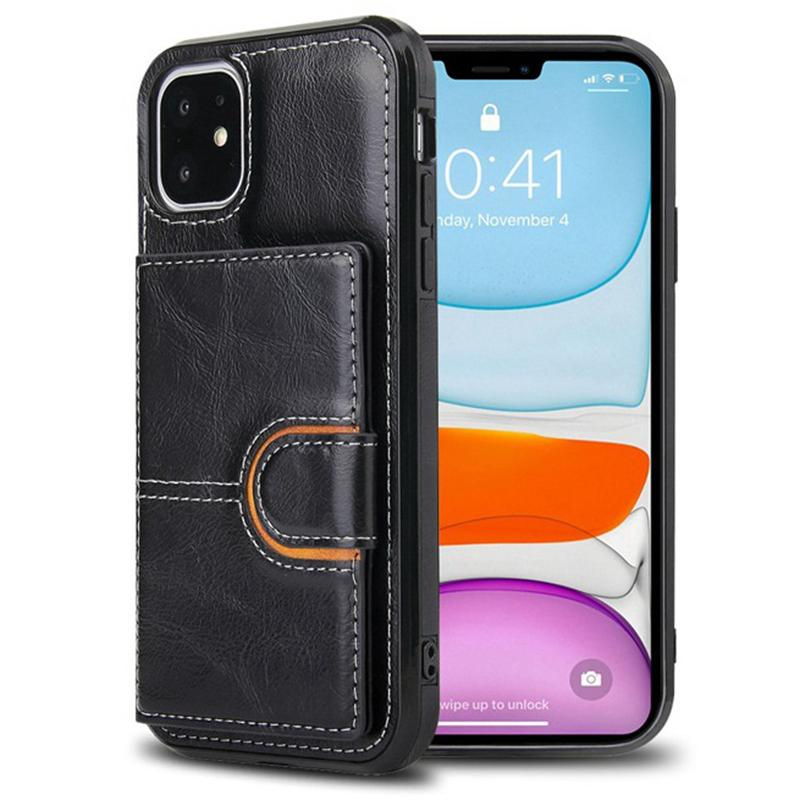 For iPhone 11 PRO X XR XS MAX Phone Case PU Wallet Cases with Photo Frame Credit card Slot Leather Case Covers for iphone 6 7 8 plus