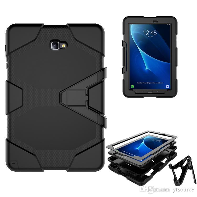 "For Samsung GALAXY Tab A 10.1"" T580 P580 T590 Armor Case Shock Drop-Proof Hybrid Impact Military Defender Protective Cover DHL free"