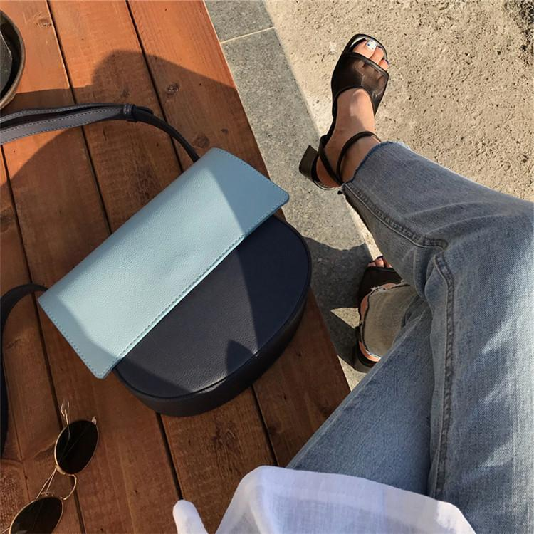 Cool2019 Ins Woman Bag Exceed Fire Girl Satchel Colour All-match Tempo libero Monospalla Span Package Tide