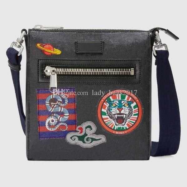 Classic Bags Men Messenger Shoulder Bag Genuine Leather Purse Tote Tiger Snake Handbags Wallet Totes Bags Crossbody Purse