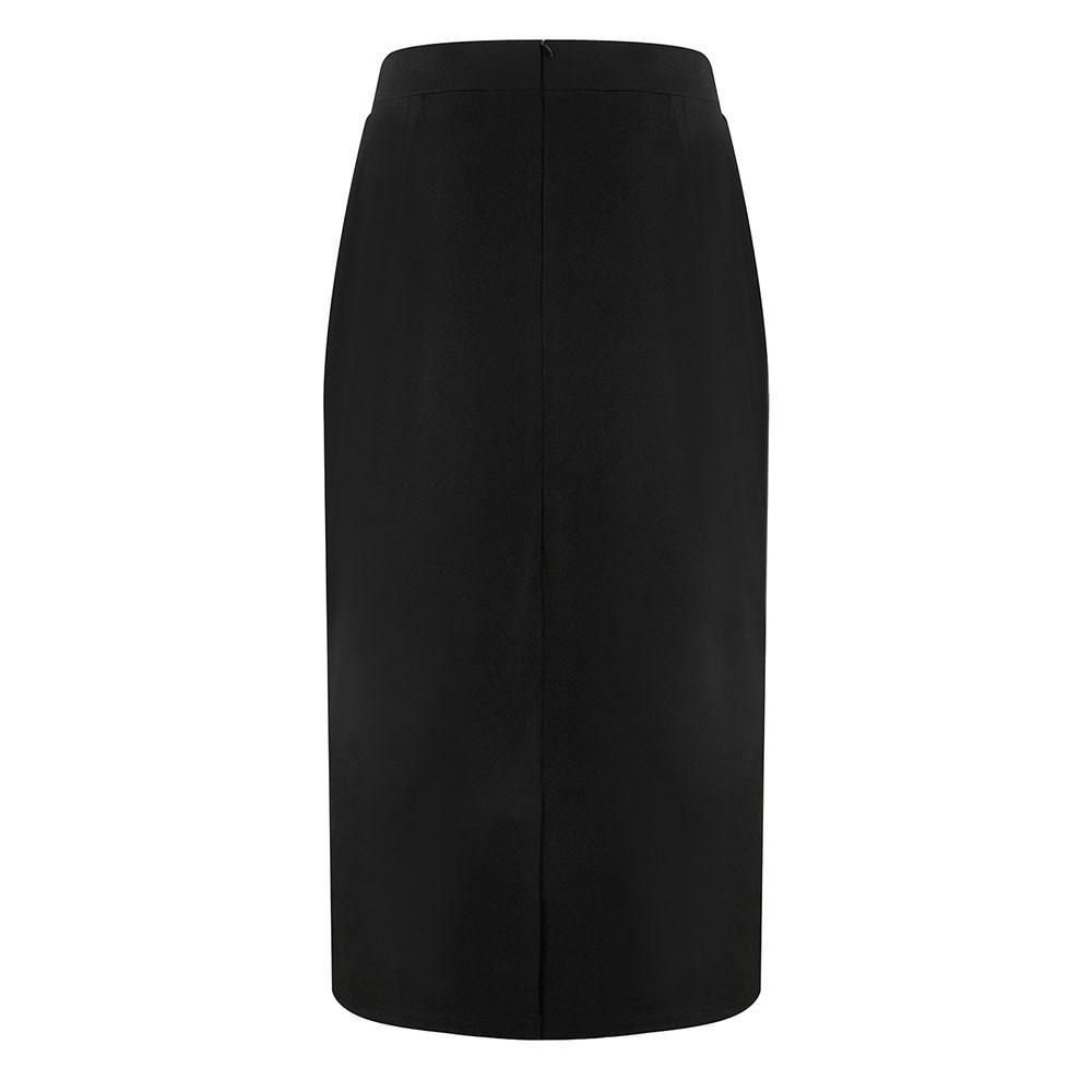 Hxroolrp 2019 Yeni Stil Sıcak Satış Kadın profesyonel arka etekler Çalışma BODYCON Elbise Skirits Sonbahar Kış F1 için Wear