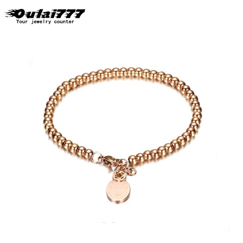 aço inoxidável pulseira talão grosso homens presentes homens cadeias mulheres acessórios pulseiras de prata subiu casal pulseira de ouro