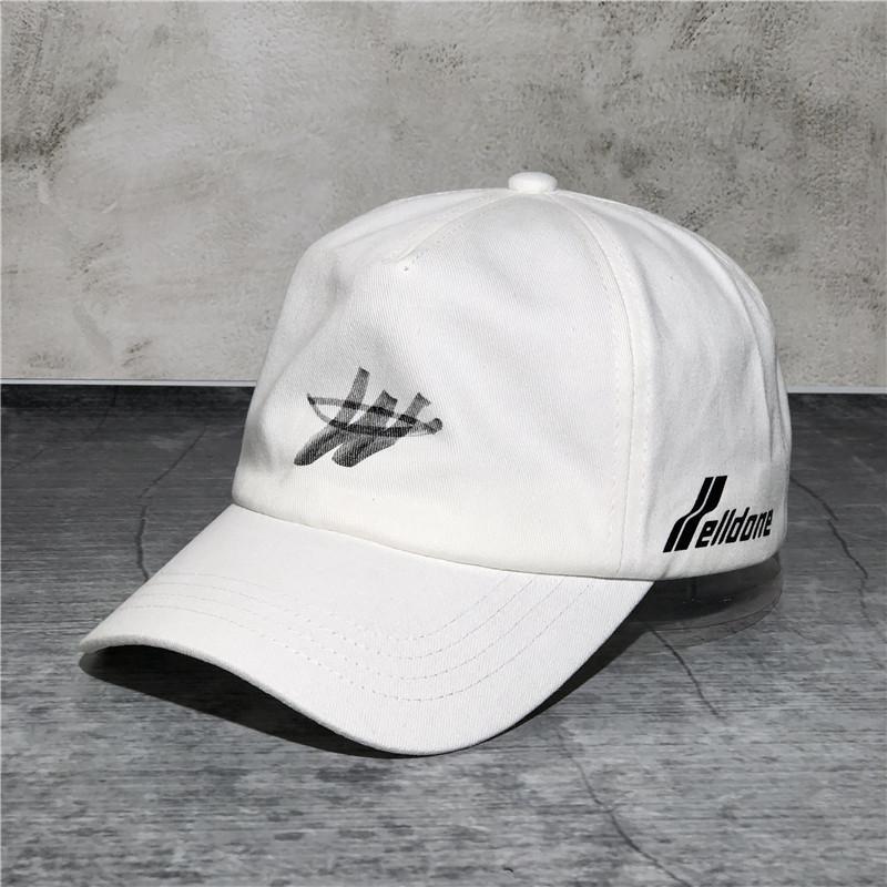 carta chapéu New Welldon W marca baseball baseball casal de celebridades tampa tiro cap internet moda de rua capota moda myHL6