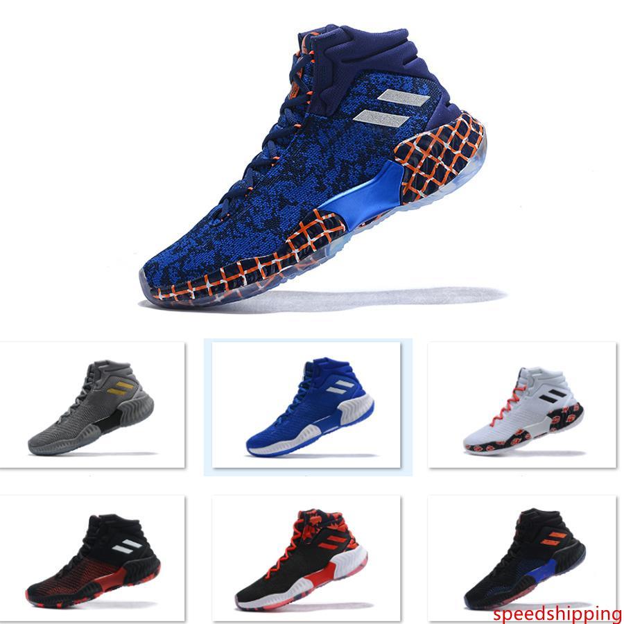 2019 pro di rimbalzo elevata Donovan Mitchell scarpe da basket degli uomini Allenamento progettista originale scarpe dimensioni 40-46