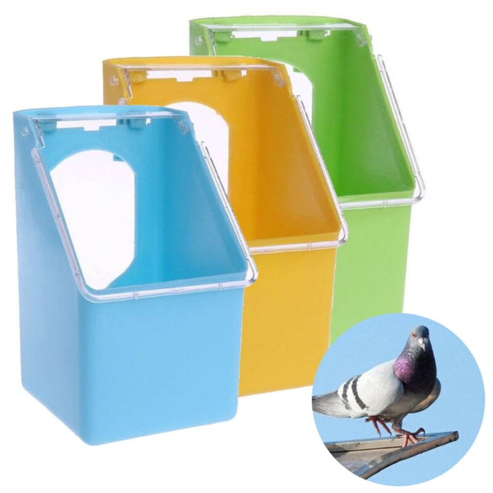 İçki Pot Kuş Kafesi Su Sebili Gıda Konteyner Budgie Cockatiel Pet Malzemeleri Asma Plastik Güvercinler Su Besleyici Papağan