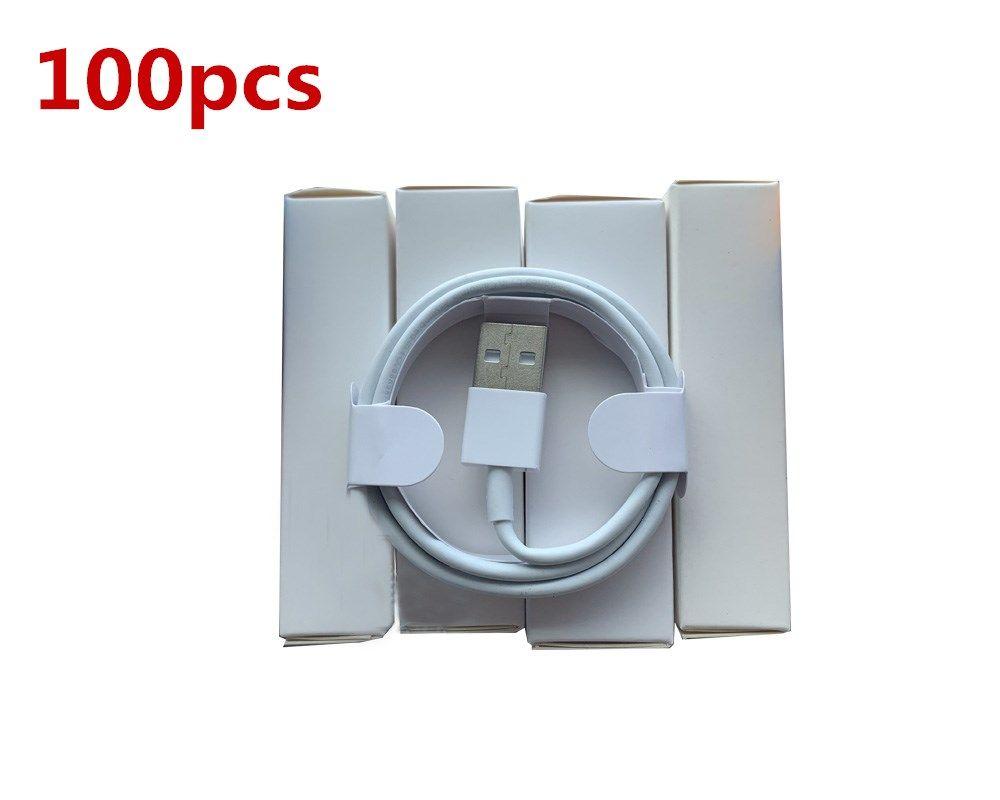 100pcs التي 7 أجيال البيانات الأصلية OEM جودة 1M / 3FT USB مزامنة شاحن كابل الهاتف مع مربع التجزئة الجديدة