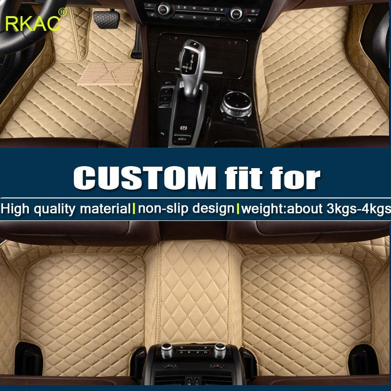 RKAC Car floor mats for Mitsubishi_Outlander 2003-2017 custom fit car all weather carpet floor liners foot mats