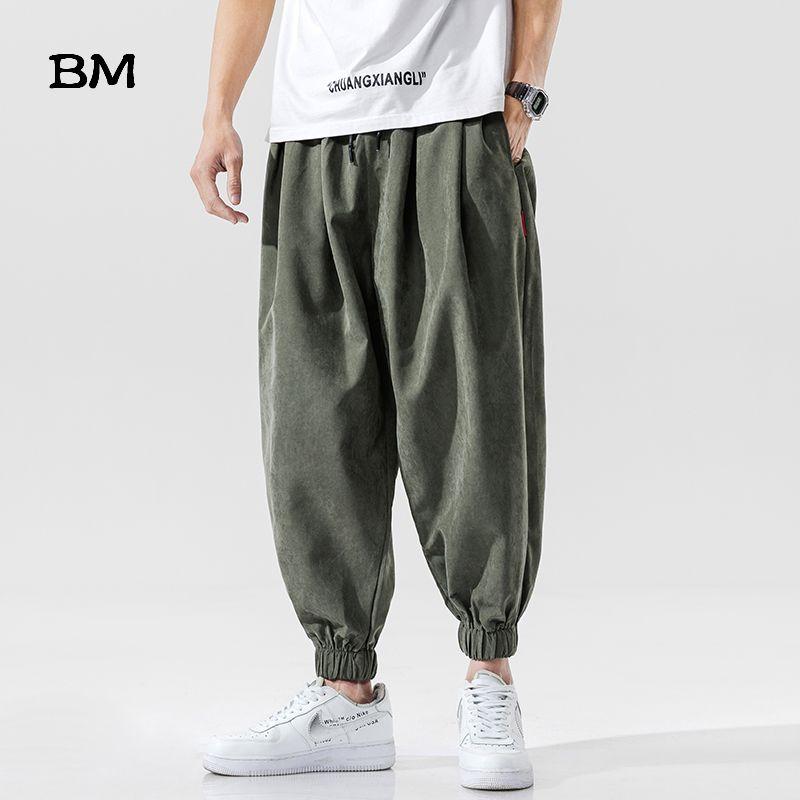 Street Joggers Thin Hip Hop Hosen Mode Jogginghose koreanische Art Kleidung Herren Lauf Kpop Maxi-Lose Baggy Pants Male