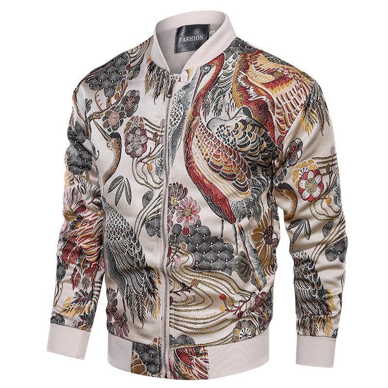 Mens Designer Vestes New Arrival Broderie Veste Manteau Homme Hip Hop Streetwear hommes Veste Manteau Vêtements Bomber Sping Nouveau S-3XL 2020