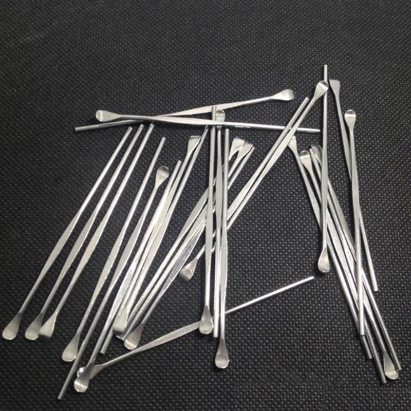 herramienta cera herramienta DAB herramienta inoxidable dabber Pequeño F Cera de cera atomizador seco pluma hierba vaporizador