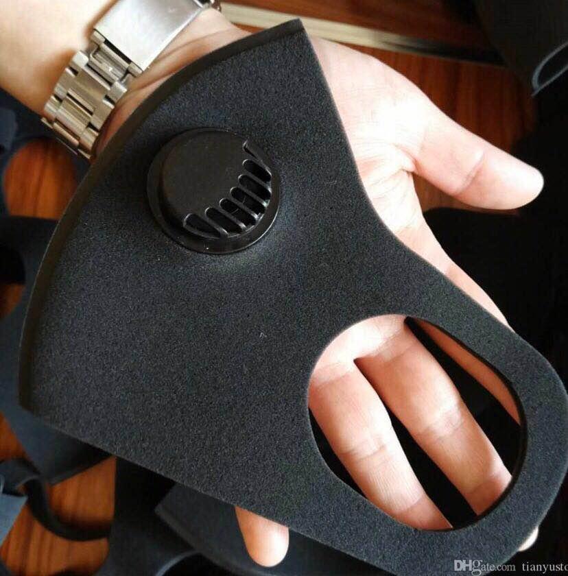 الجملة أقنعة الوجه تنقية الهواء قابلة لإعادة الاستخدام قناع الوجه مع فلتر الكربون المضادة للضباب PM2.5 التنفس أقنعة تسليم سريع