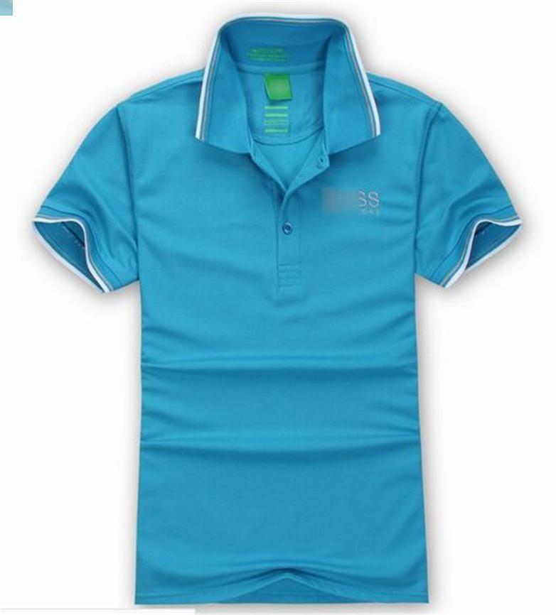 Лето бренд дизайнер Поло топы вышивка Мужские рубашки поло мода футболка Мужчины Женщины высокая улица свободного покроя топ тройники 825-8 DQ8L ZBXS 2IWQ T3VO
