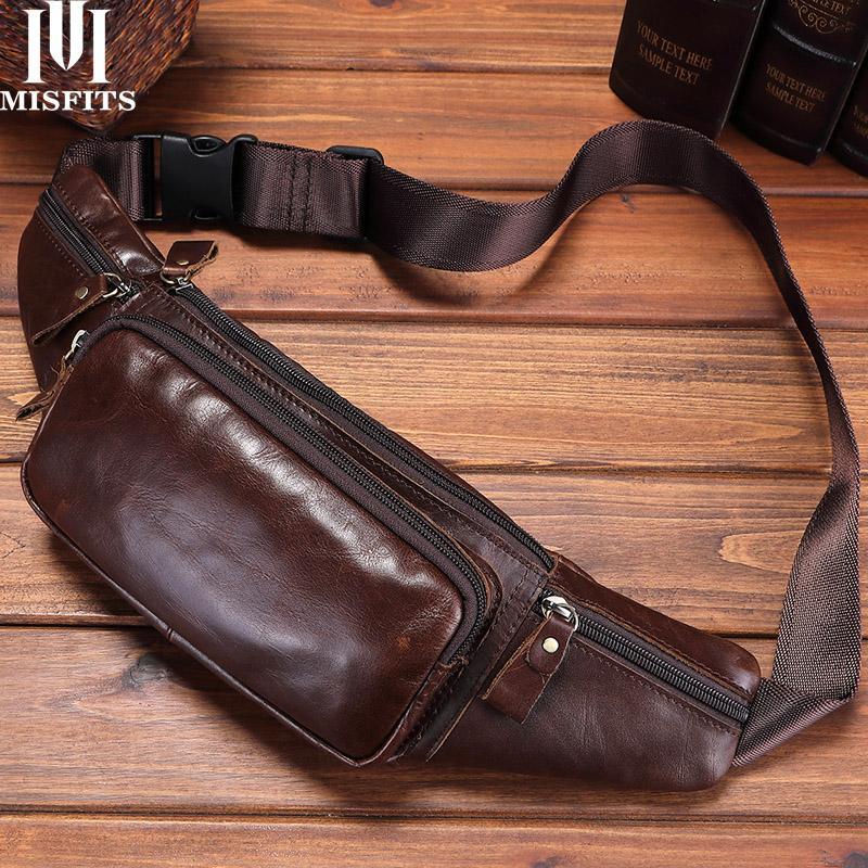 Quenya натуральная кожа талии сумка мужчины путешествия талии пакет бедра ремень сумки телефон сумка случайные груди мессенджер мужской Фанни пакет