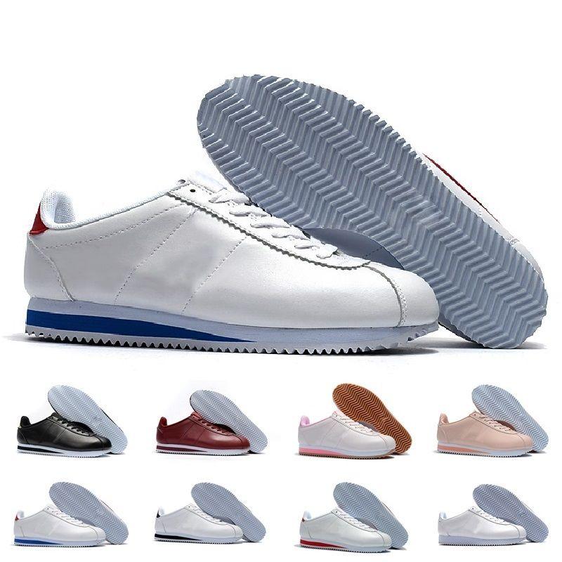 Compre Nike Cortez Nuevo Multicolor Mejor Nuevo Cortez Zapatos Para Mujer  Para Hombre Zapatos Casuales Zapatillas De Deporte De Cuero Atlético ...