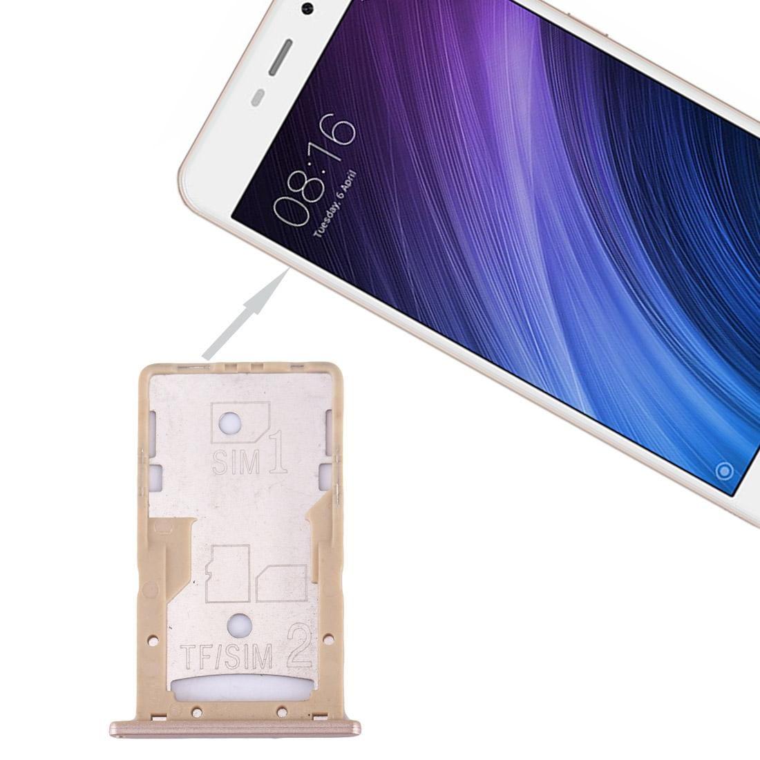 Para Xiaomi redmi 4A SIM SIM / TF Tray