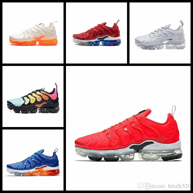 brand new a6529 e8bf9 2019 TN Plus Shoes Game Royal Orange USA Designer Sports TNs Running Shoes  For Men Trainers Women Brand Sneakers Outdoor Chaussures Running Shoes Men  ...