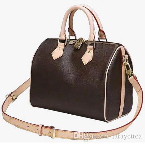 2019 yeni moda yüksek kalite kadınlar hızlı çanta Yastık çanta SPEEDY 25/30/35 cm Kılıf