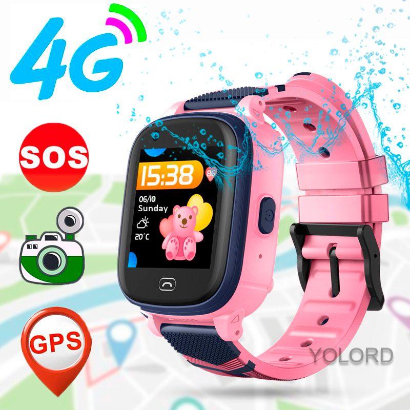 جميل لطيف هدية 4G الذكية ووتش GPS لتحديد المواقع المقتفي LBS بعد Monitoruing المواقع نداء الأطفال سمارت كيدز رايتس ووتش A60