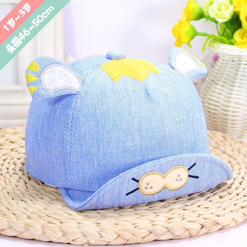 Новая мягкая шляпа милые дети новорожденный Bongrace пик бейсболка Sunhat удобный сенсорный подарок