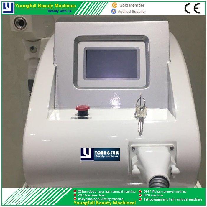 ND.Yag máquina de eliminación de tatuajes con láser marca de nacimiento eliminación de pigmento rejuvenecimiento de la piel onicomicosis 1064 nm 532 nm 1320 nm 3 cabeza
