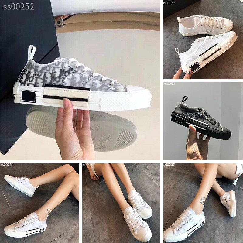Gota Estilo Moda envio designer clássicos Mulheres sapatos tênis de lona Outdoor Black White Luxury Flat Shoes Casual Platform Trainers 5-11
