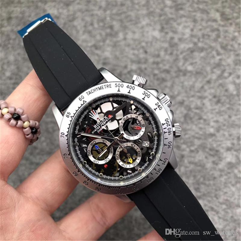 뜨거운 판매 고급 석영 시계 패션 남성 스포츠 자동 날짜 방수 남성 시계 스위스 브랜드 사업은 손목 시계 relogio masculino