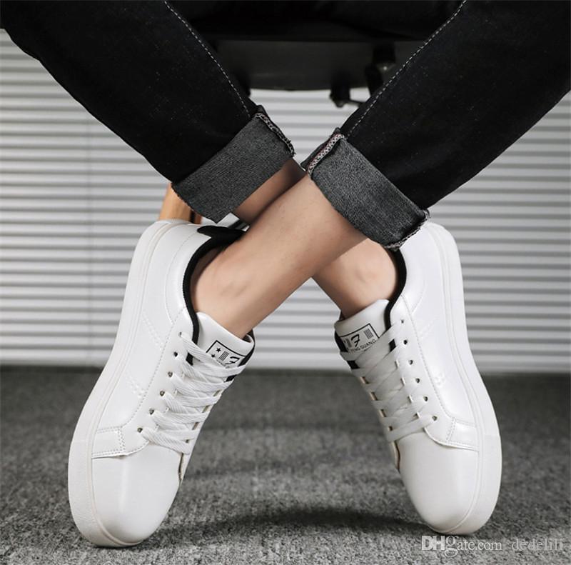Hot Sale 2020 sapatos casuais confortáveis das mulheres dos homens sshoes planas selvagens tecido de couro patchwork moda sapatos casuais parafuso prisioneiro esportes patim t