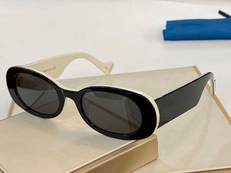여성 남성을위한 새로운 0517 선글라스 특별한 자외선 차단 여성 스타일 빈티지 작은 타원형 프레임 최고 품질 무료 케이스 0517S