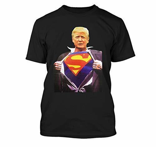 Sommer t-shirts JasPaareApparels Erwachsene Super Man Trump Design Kurzarm T-Shirt