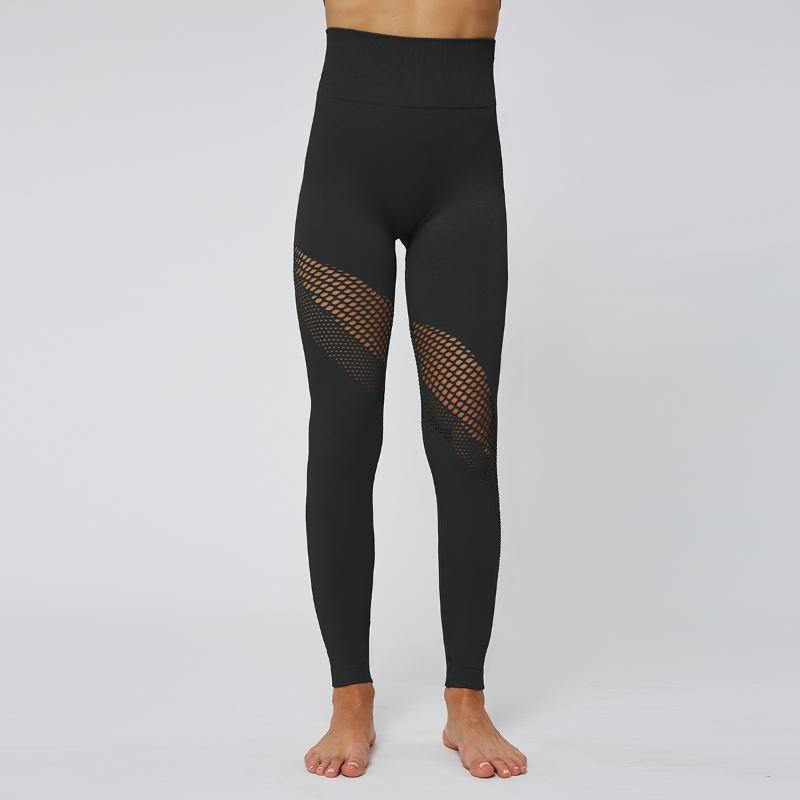 TWTOPSE sexy scava fuori Fitness Sport Ghette alte donne della vita senza saldatura palestra Bodybuilding allenamento di ginnastica Pantaloni Collant Yoga 2020