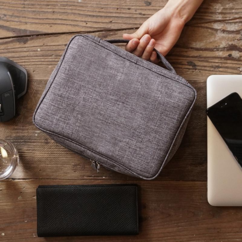 Armazenamento Digital New eletrônico Bag catiônico cabo de dados Storage Bag Multi-Function Plano Digital