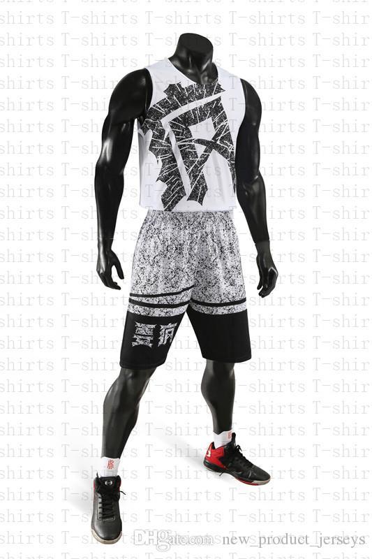 2019 Горячие продажи Высокое качество быстросохнущие подбора цветов печатает не утрачен баскетбол jerseys6114564665465e22