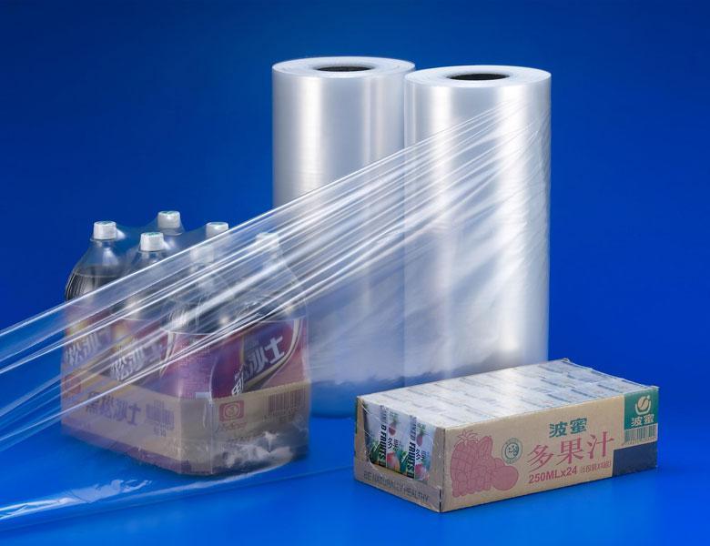 satış için plastik film rulo pof kaliteli