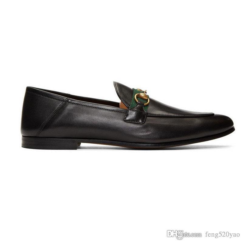 Дизайнер Плоской случайных мужчин обувь аутентичной коровий металл пряжка роскошной бархат женщина платье обувь кожа Растаптывание Ленивый лодка обувь размер 41-42-46