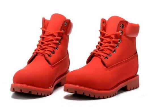 Erkekler Yepyeni Boyut ABD 8-13 için Sıcak Satış-Man 8 gözleri 6-İnç Premium Bilek Boots Erkek Kereste Çalışma Yürüyüş Ayakkabı Kış Kar Boots