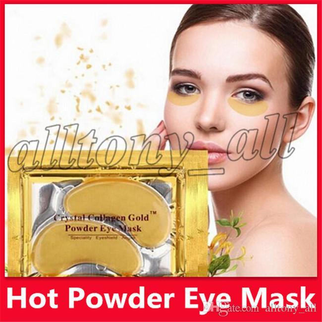 Prix le plus bas Nouveau Collagène Crystal Masques pour les yeux Anti-poches. Hydratant Masques pour les yeux Masques anti-âge. Masque pour les yeux à la poudre de collagène.
