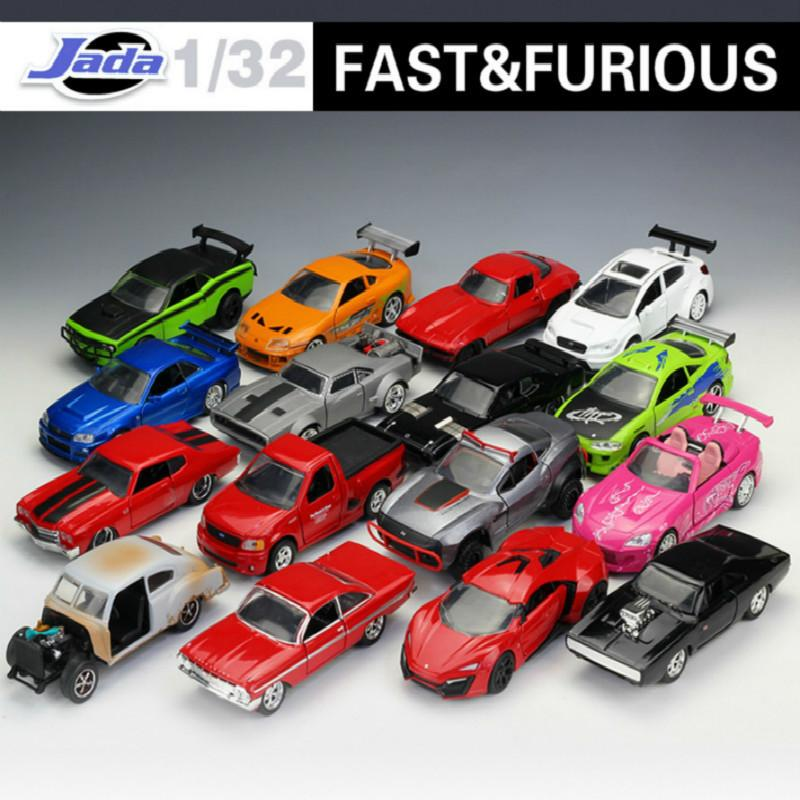 1:32 Jada Classic Metal Fast And Furious 8 Race Car Alloy Diecast Modelo de Juguete Carstoy Para Niños Regalos Colección Envío Gratis J190525