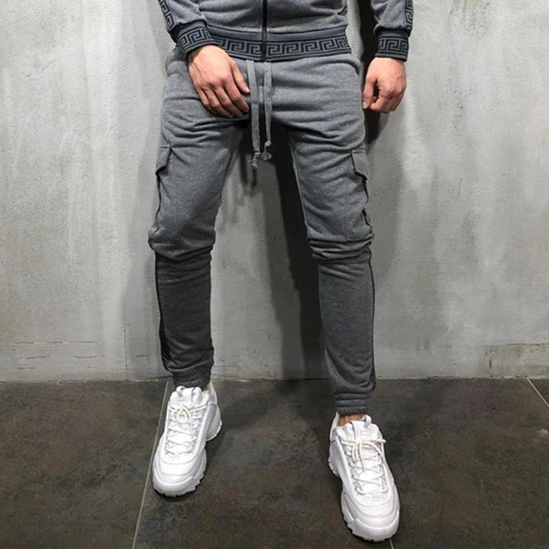 2020 New Fashion Streetwear Sweatpants Rungers Causal Sportswear Pants Men Black White mens Hip Hop Sweatpants For Men whoelsale # 5