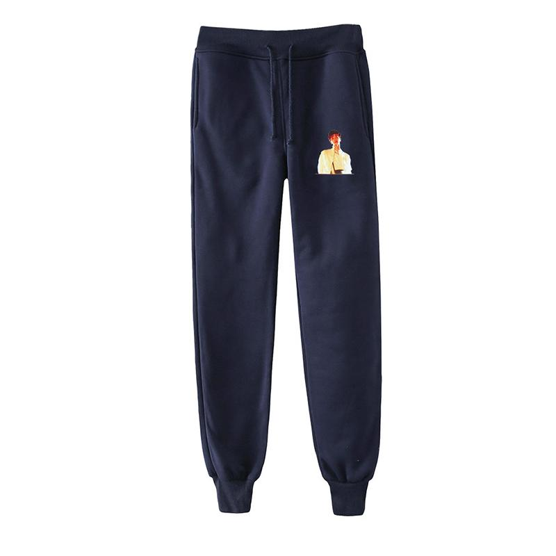Men's Pants Latest Men Women Fashion Print TEN Super Kpop Hip Hop Harem Street Style Casual Unisex Long Loose Pant Trousers Sportswear