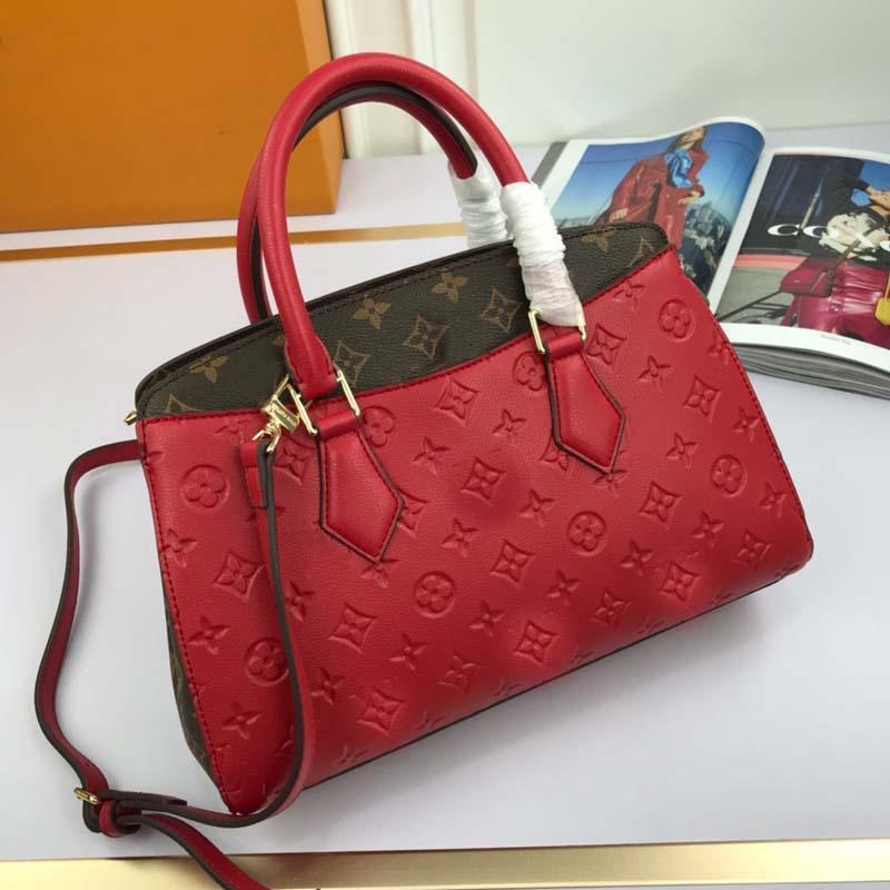 2020 venda mulheres quentes bolsa de grife de luxo bolsa de alta qualidade moda elegante limitada bolsa de ombro único compras cadeia saco N: L33818