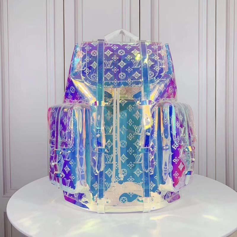 2020 новый роскошный модный рюкзак из кожи и холста роскошная дизайнерская сумка модный принт рюкзак 003