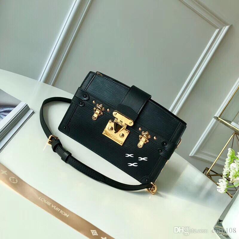 Top1-Qaulity tamanho M51697 20..12..5.5cm Itália Designer de moda forro de seda bolsa de ombro com saco de poeira pacote grátis Shiping
